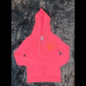 PINK Victoria's Secret Zip-Up Hoodie